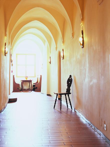 Gotischer Flur Wohnen im Torwärterhaus
