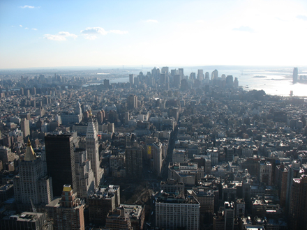 NY Empire State Building, Foto Matthias Eichinger