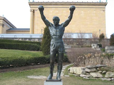 Philadelphia Rocky Statue New York, Foto Anita Arneitz