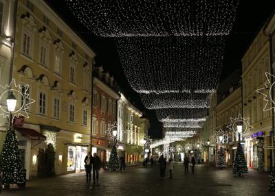 Lichterglanz in Klagenfurt am Wörthersee. Foto Matthias Eichinger