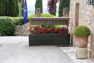 Borgo San Felice, Toskana, Foto Anita Arneitz, www.anitaaufreisen.at