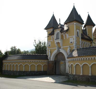 Märchenschloss selbst gebaut, Elberstein, Globasnitz, Kärnten, Foto Anita Arneitz