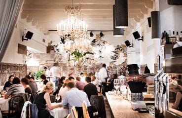 """Lange war der """"Speisesaal"""" im Hotel Wiesler nur den Hausgästen vorbehalten. Damit ist jetzt Schluss."""