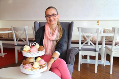 Cupcake Queen von Kärnten - Misaela Lisjak, Foto Anita Arneitz