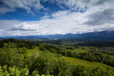 Kärnten - Blick vom Sternberg, Foto Matthias Eichinger
