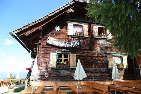 Lammersdorferhütte Hüttenwanderungen Kärnten