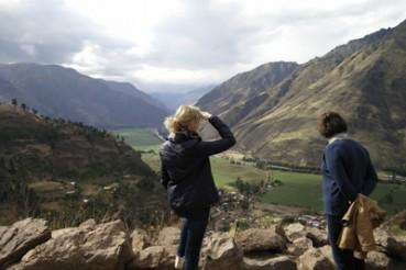 Blick ins Urabamba-Tal Peru