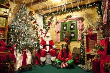 Von Lappland auf einen Abstecher in Naturpark Učka: Der Weihnachtsmann residiertheuer in Kroatien.