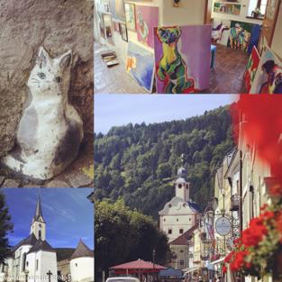 Impressionen aus der Künstlerstadt Gmünd in Kärnten, Foto Anita Arneitz