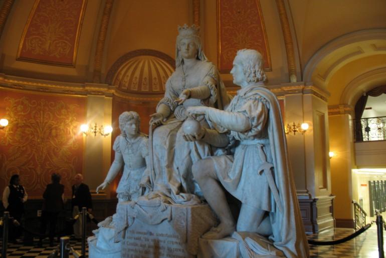 Capitol und Museum in Sacramento.