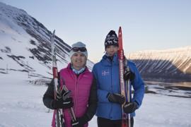 Skking in Iceland, Langlaufen in Island