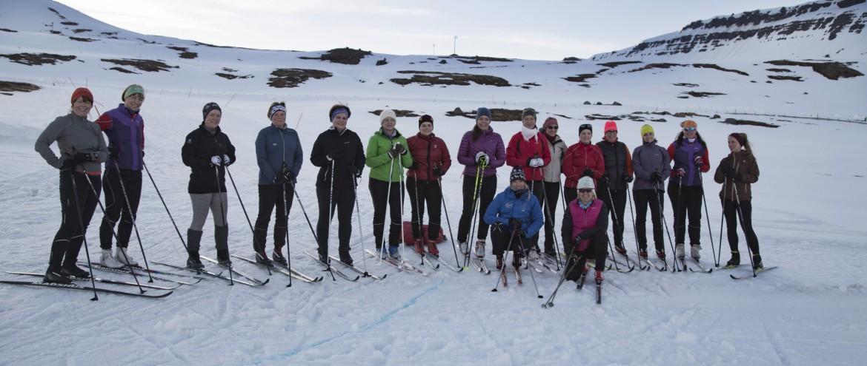 skiing group from Isafjördur