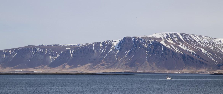 Reykjavik, Island, Anita auf Reisen