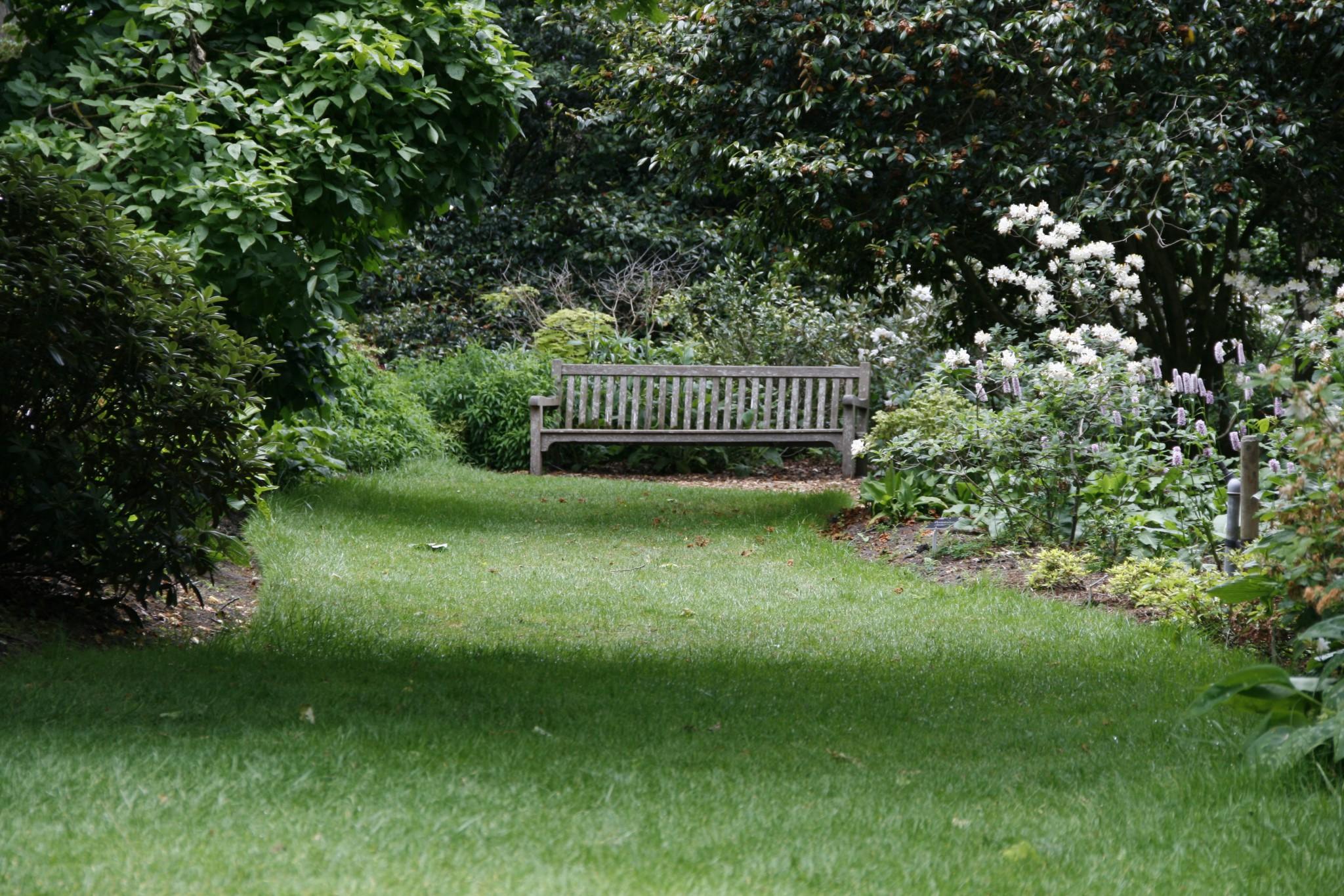 Englische Garten Schonheiten In Grun