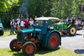 Hanomag, Traktortreffen Schiefling, Foto Matthias Eichinger