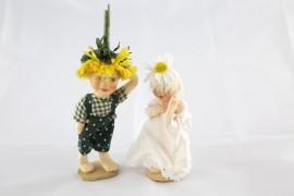 Puppenmacherin Helga Riedel und ihre Puppen