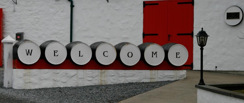 Edradour Distillerie in Schottland