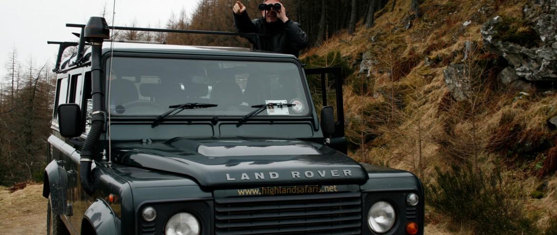 Highlandsafari in Schottland