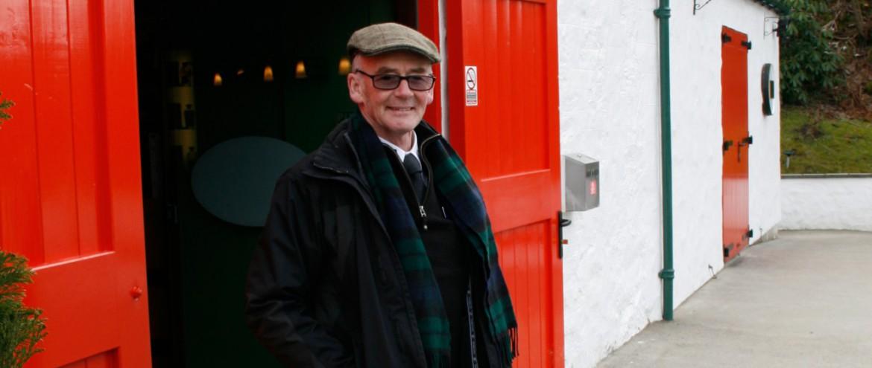 Kenny the wishky guide in Schottland