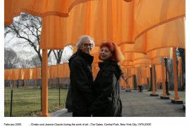 Christo & Jeanne-Claude_The Gates, Central Park, New York City, 1979-2005_ph. Wolfgang Woltz_(c) Christo 2005