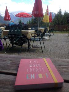 Schreibreise Bad Hofgastein Bärsteinalm