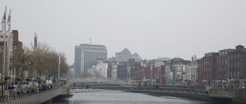 Dublin Brücke Liffey
