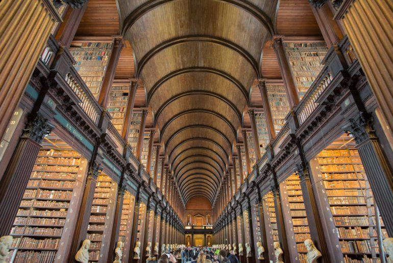 Trinity College Library_Dublin, schönste Bibliotheken, Foto Anita Arneitz
