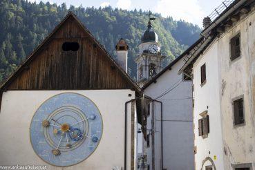 Uhrmacherdorf Pesarris in Carnia