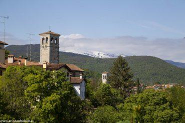 Blick auf die Altstadt von Cividale del Friuli , www.anitaaufreisen.at