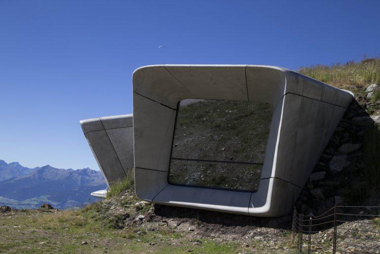 Bergmuseen Messner Mountain Museum Corones Kronplatz Südtirol