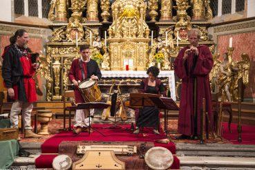Transromanica Klangreise in Millstatt mit Ensemble Harmonia Variabilis