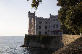 Schloss Miramare Triest, Italien, www.anitaaufreisen.at