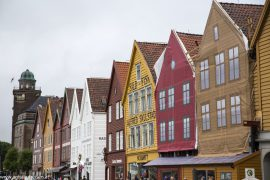 Bryggen, Städtetrip Bergen Norwegen