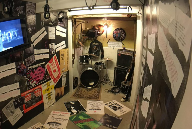 Punk-Museum, Foto Bryan Riebeek, www.anitaaufreisen.at