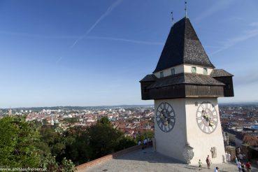 Graz Urban, Uhrturm, Foto Matthias Eichinger, www.anitaaufreisen.at