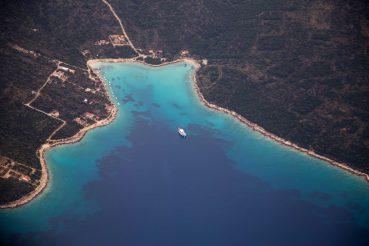 Lifehacks für Flugreisen, Anflug auf Split, www.anitaaufreisen.at