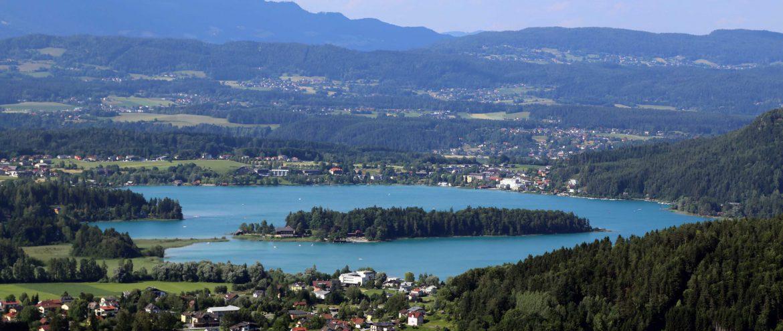 Inseln in Kärnten, Faaker See, Kärnten, Österreich. www.anitaaufreisen.at