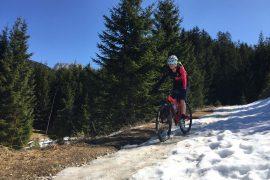 Mountainbiken im Tannheimer Tal, Lumbergerhof, Ramona Barpist