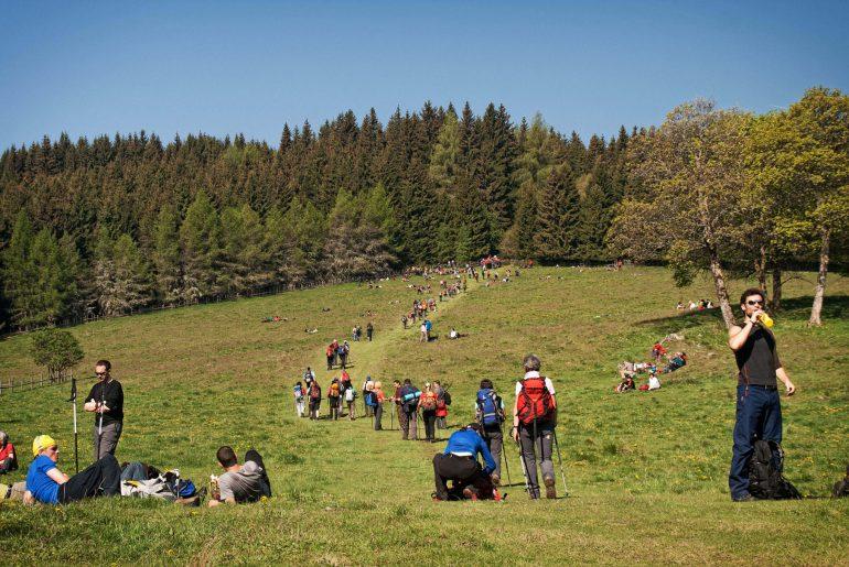 Vierbergelauf Kärnten, Österreich, Foto Wolfgang Hoi, www.anitaaufreisen.at