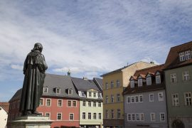 Herderplatz Weimar, Thüringen, www.anitaaufreisen.at