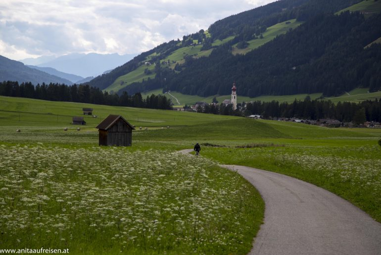 Dolomiten, Radweg von Toblach nach Niederdorf, www.anitaaufreisen.at