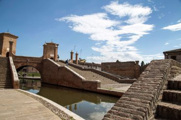 Comacchio, Trepponit, Italien, Foto Anita Arneitz, www.anitaaufreisen.at