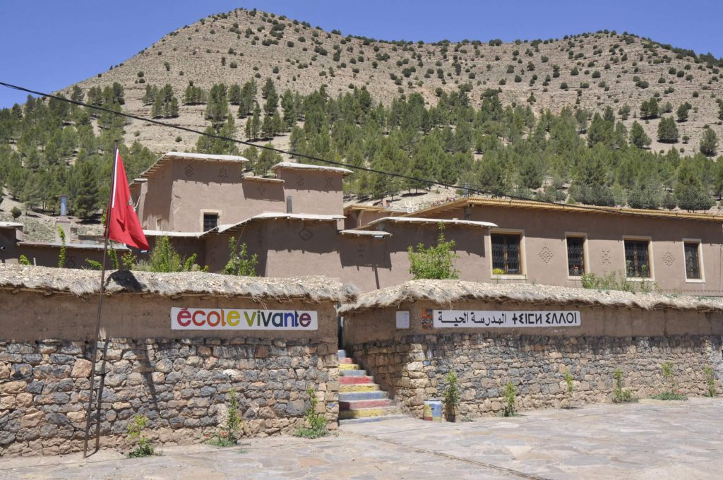 Marokko, Schule ecole vivante, weltweitwandern.com