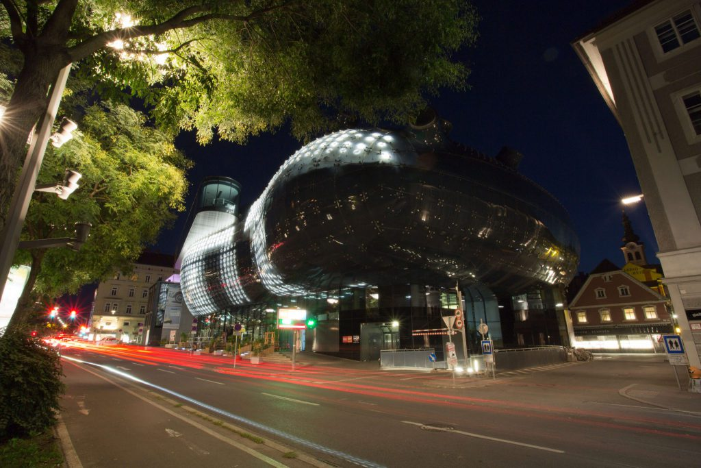 Kunsthaus Graz, Steiermark, Foto Matthias Eichinger, www.anitaaufreisen.at