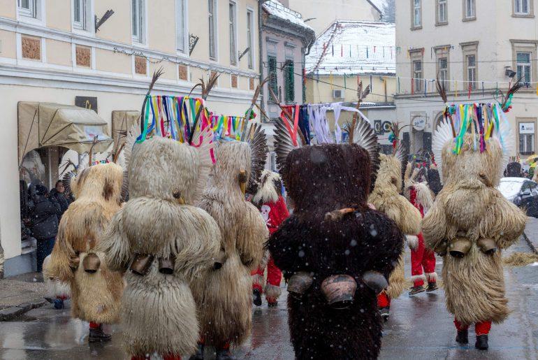 Karneval der Kurent in Ptuj, Foto Matthias Eichinger, www.anitaaufreisen.at