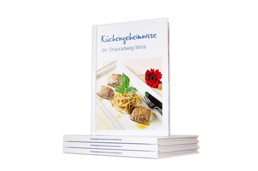 Kochbuch, Drauradweg Wirte, Kärnten