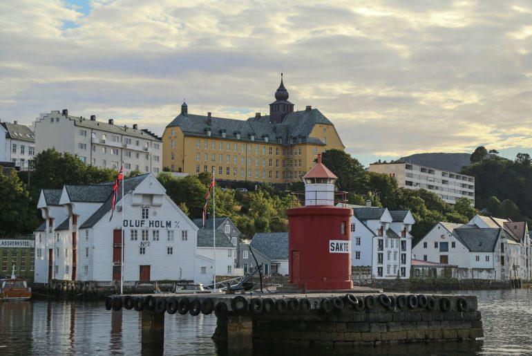 Leuchtturm Moja, Leuchtturm Alesund, Norwegen, Übernachten im Leuchtturm, Foto Anita Arneitz, Reiseblog www.anitaaufreisen.at