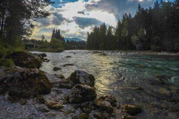 Kanutour auf der Gail, Kärnten, Naturpark Dobratsch, Schütt, Nötsch, Arnoldstein, Foto Anita Arneitz, Reiseblog www.anitaaufreisen.at