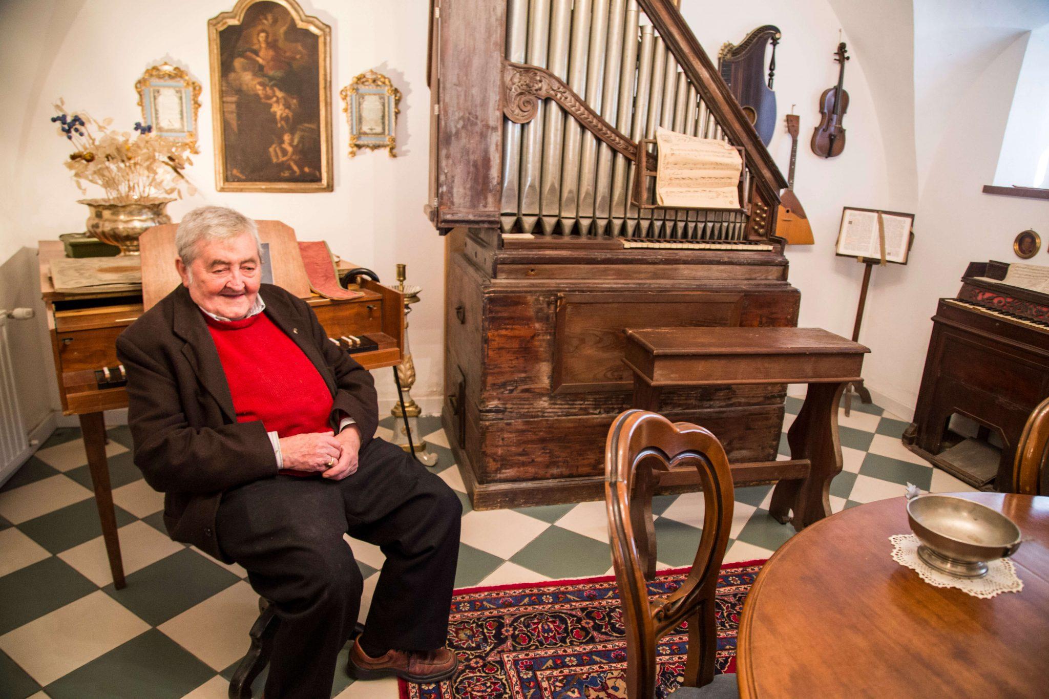 Mozartina in Paularo, Carnia, Italien, Musikmuseum, Foto Anita Arneitz und Matthias Eichinger, Reiseblog www.anitaaufreisen.at