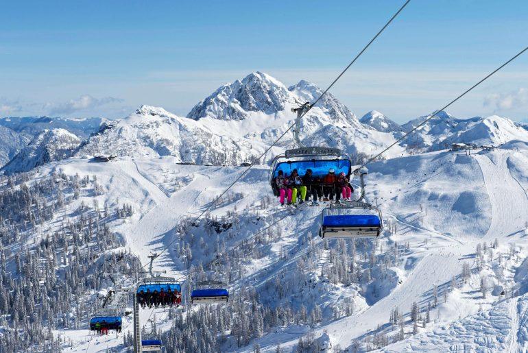 Skifahren in Kärnten, Foto Nassfeld.at